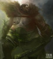 Forest Ogre by Thor0denson