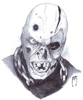 Jason Voorhees Unmasked by AzrielMordecai