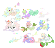 Pastel Pallet Adopts by Ambercatlucky2