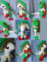 Breloom (up for sale) by Rens-twin