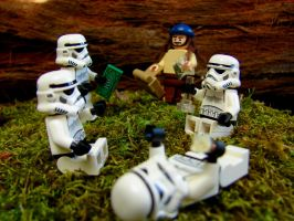 Stormtroopers day off by PotatoeHuman