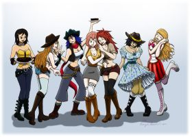 OP - A motley group by Evanyia