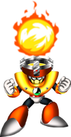 3D-ish Solar Man by spdy4