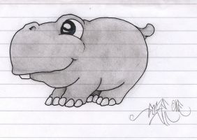 Happy-Hippo by ColorJunK-74
