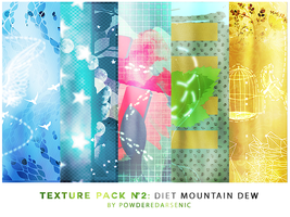 Texture Pack 2 Diet Mountain Dew by PowderedArsenic