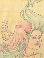 The Octopus Mermaid Series, 7 by khallion