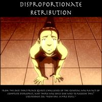Disproportionate Retribution by SaucePear