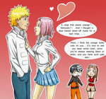 NaruSaku as KidLiz by Kamden