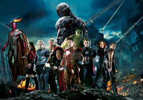 Avengers age of ultron wallpaper  by ArkhamNatic