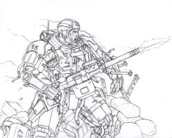 Machinegunner by TugoDoomER