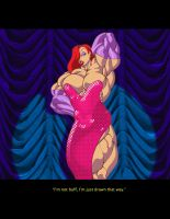 Jessica Rabbit  by ArtbroJohn