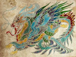 Oriental Dragon by RGunX