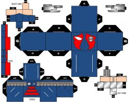 Cubee Craft  KGBeast DC Super Heroes by handita2006