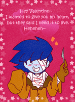 Awkward Valentine's Card by Axl-fox