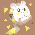 Togedemaru by SarahRichford