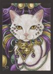 Bejeweled Cat 5 by natamon