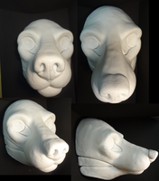 New Small K9 Resin Blank by DreamVisionCreations