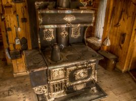 Old Cook Stove by ShogunMaki