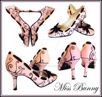 Black Swirl Shoes. by miss-bunny-shoes