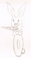 Bunny and Carrot by Minakie