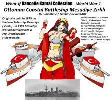 What-If Kancolle Kantai Ottoman Mesudiye by jmantime-is-Here