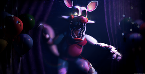 FNAF 2 - Funtime Foxy by GamesProduction