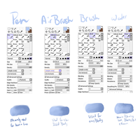 My Brush settings~ by Obakeimvu