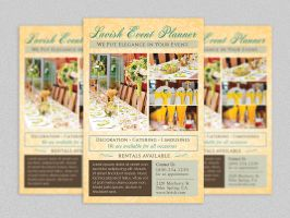 Event Planner Flyer Template by Godserv