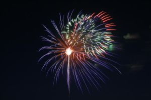 Independence day fireworks by AmblingPhotographer