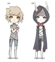 Some Male Adopts - 80 Points -TAKEN- by Voodoo-Elf