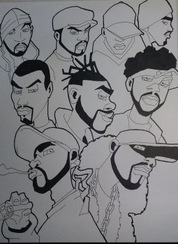 Wu-Tang Clan by Glax101