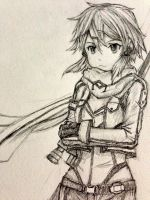 Sinon (pencil sketch) by epizoder