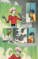 Teen Titans Year One 6.07 by JohnRauch