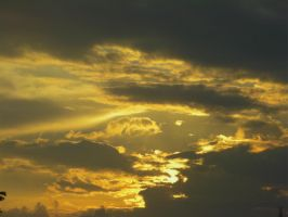 light clouds in the sky by Music3lights