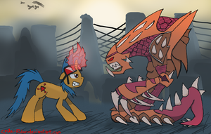 [Crossover] Blink vs. The Hydralisk by CoRe-Ridor