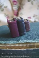 Old Library Book brooch by Nika-N