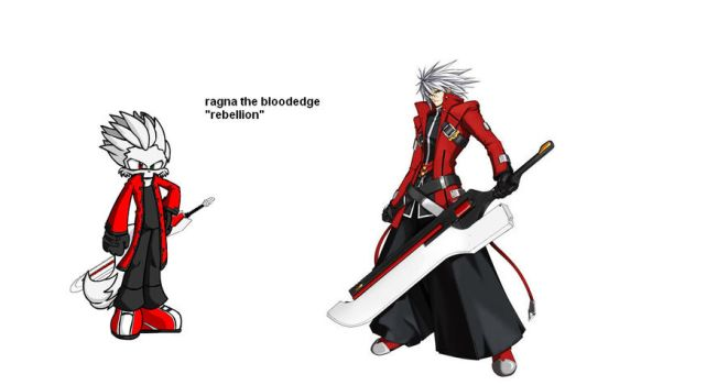 furry ragna the bloodedge by singfried
