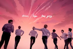 BTS YOUNGFOREVER by renkarts