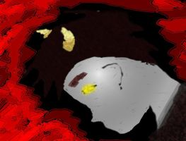 Trial tablet pic of Karkat by wolf-petal