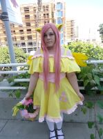 Fluttershy AX 2013 by redjanuary
