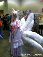 9 Tailed Fox Cosplay by SilverWolfCostuming