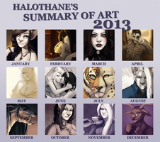 Summary of Art 2013 by danielleclaire