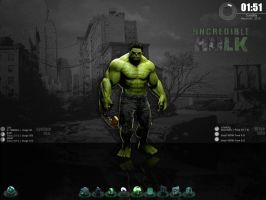 The Incredible Hulk Desktop by wallybescotty