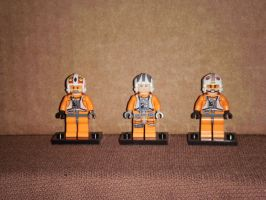Lego Rebel Pilots 1 by BrigadierDarman