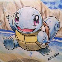 Squirtle 007 by ArtzxGeek