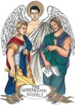 The Winchester Gospels - Sam, Dean and Castiel by Weekwood