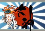 Okami Wallpaper by KayFedewa
