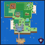 Faraway Island Map by TinyBuni
