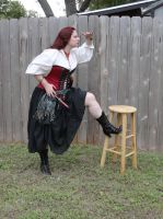 Red Pirate Roberts 25 by HiddenYume-stock
