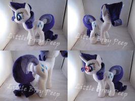 mlp Rarity plush by Little-Broy-Peep